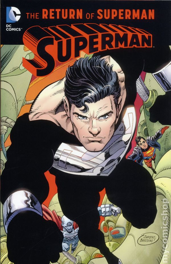 Comic Books In Death And Return Of Superman Tpb Special