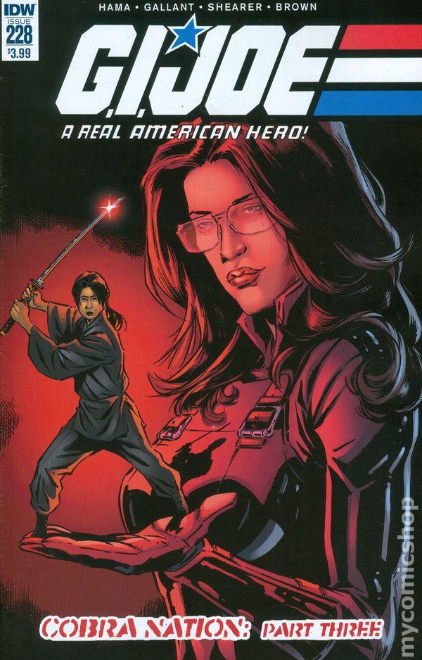 GI Joe A Real American Hero #221 Action Figure Variant IDW Comic Book 2015