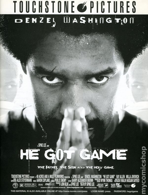He got game media press kit 1998 touchstone comic books for Touchstone promotional products
