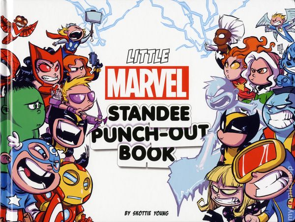 Little Marvel Standee Punch Out Book HC 2016 1 1ST