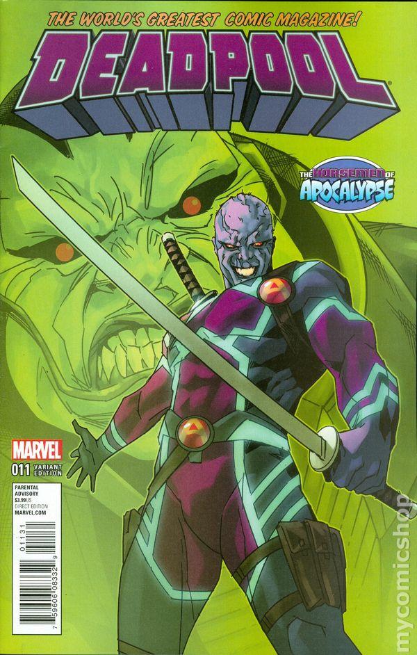 Deadpool 2015 4th series comic books for Dead pool show in jaipur