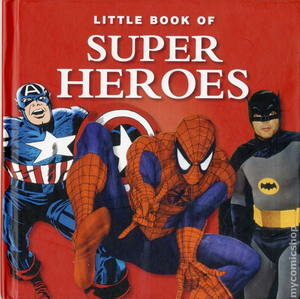 Little Book Of Super Heroes HC 2013 G2 Entertainment 1 1ST