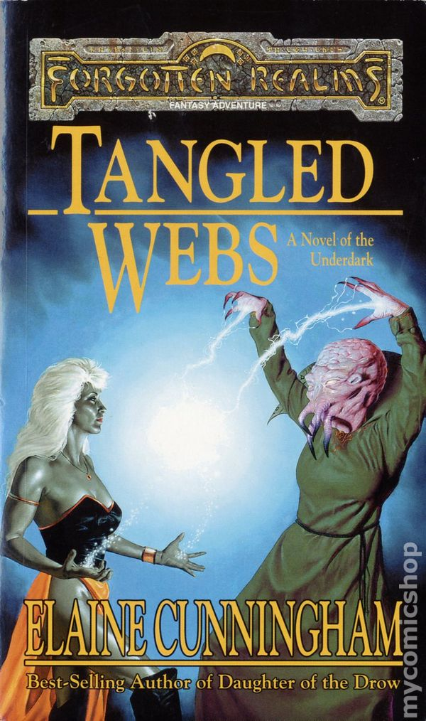 Forgotten Realms Tangled Webs PB (1998 TSR) A Novel of the Underdark 1-1ST  FN