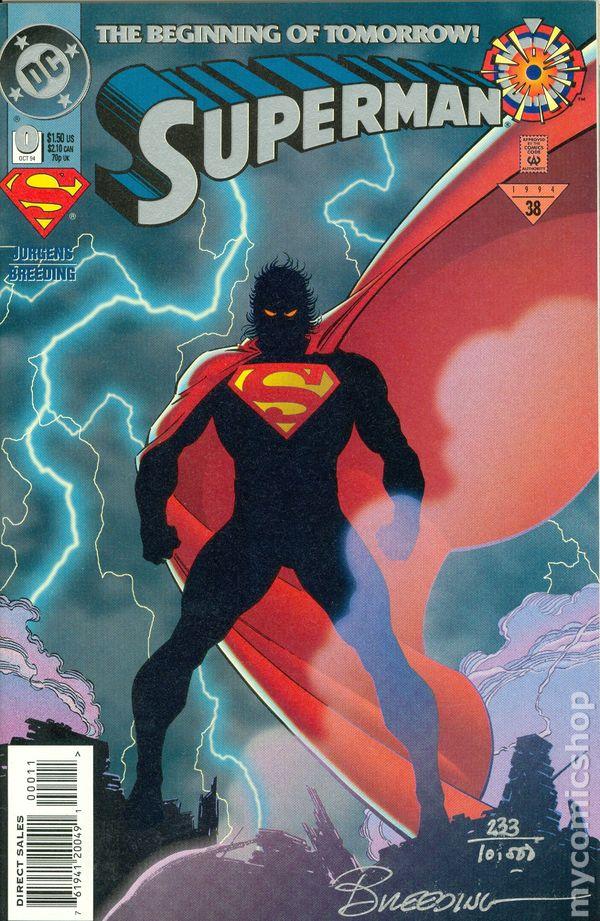 Superman 1987 series # 89 very fine comic book