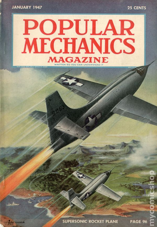Popular Mechanics Magazine 1902 Comic Books