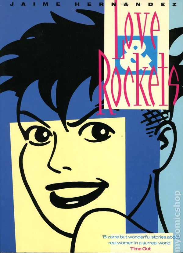 Comic Books In Love And Rockets Library Jaime Hernandez