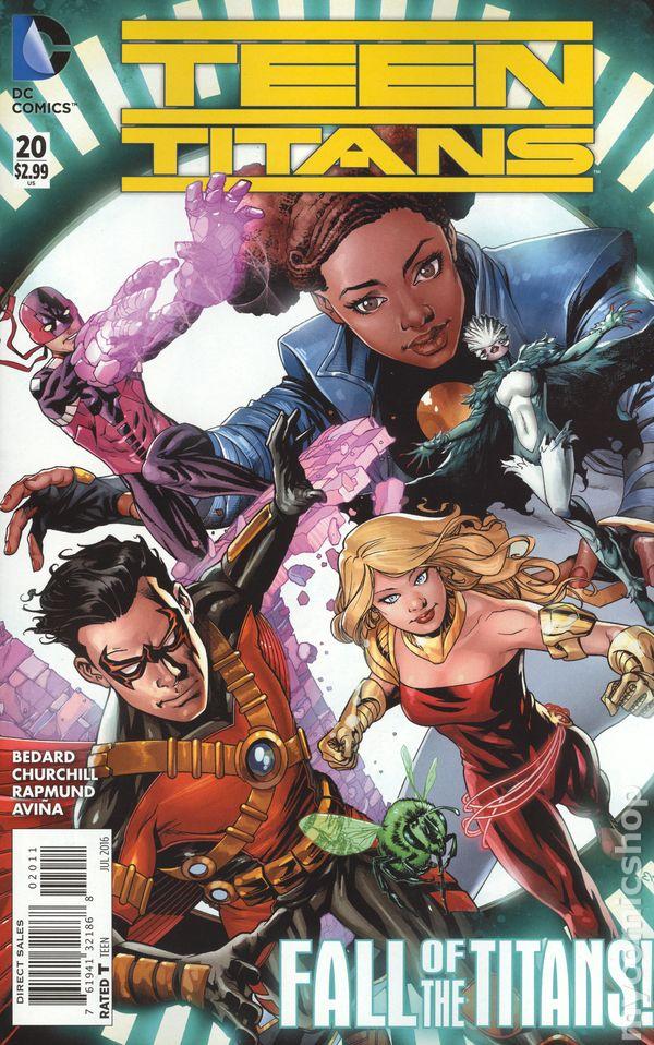 DC Teen Titans #20 Comic Book 2013 New 52