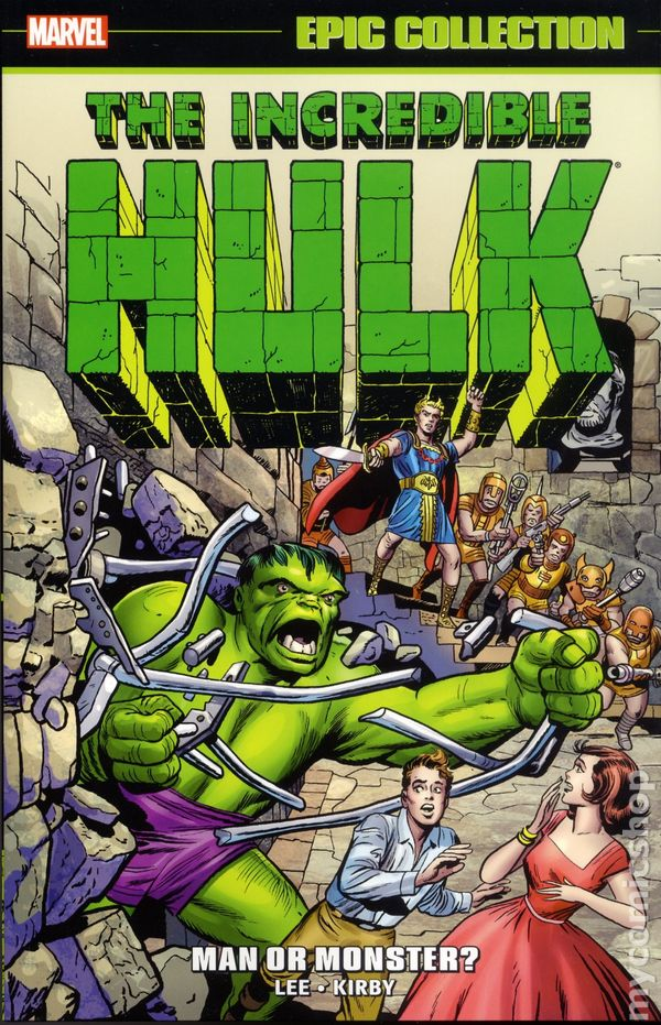 Incredible hulk man or monster tpb 2016 marvel epic collection incredible hulk man or monster tpb 2016 marvel epic collection comic books publicscrutiny Images