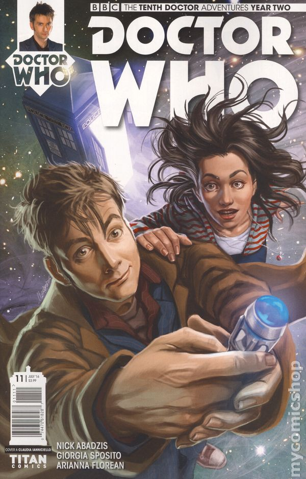 Vault 35 DOCTOR WHO 10TH YEAR 2 #5 Titan Comic NM