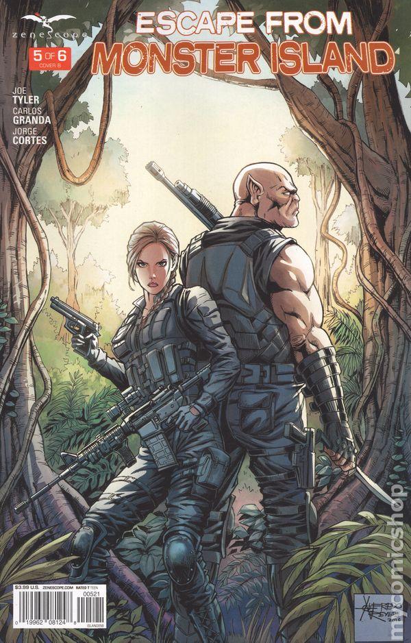 Escape From Monster Island (2016 Zenescope) Comic Books