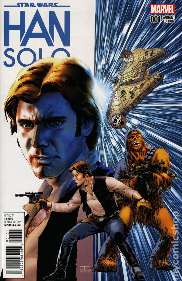 Star Wars Han Solo 2016 Marvel Comic Books