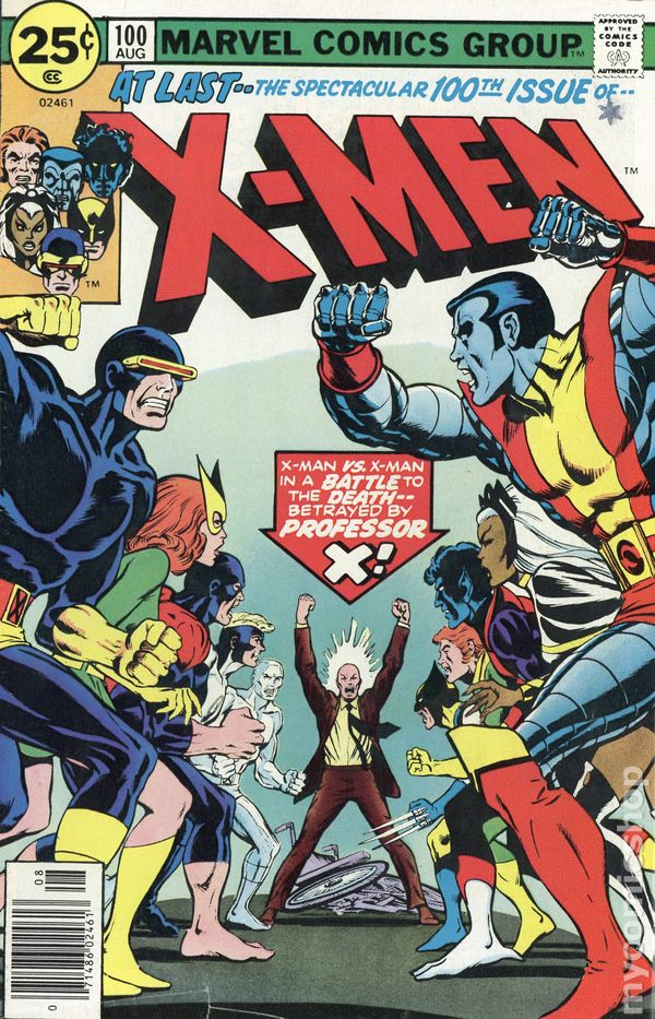 1980s 1990s Marvel THE UNCANNY XMEN key issues