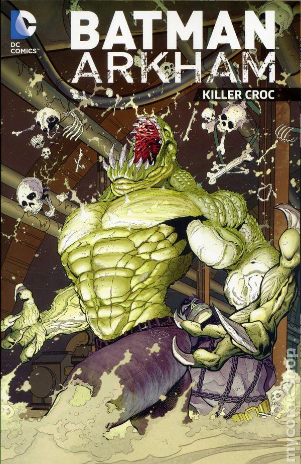 how to find killer croc in batman2