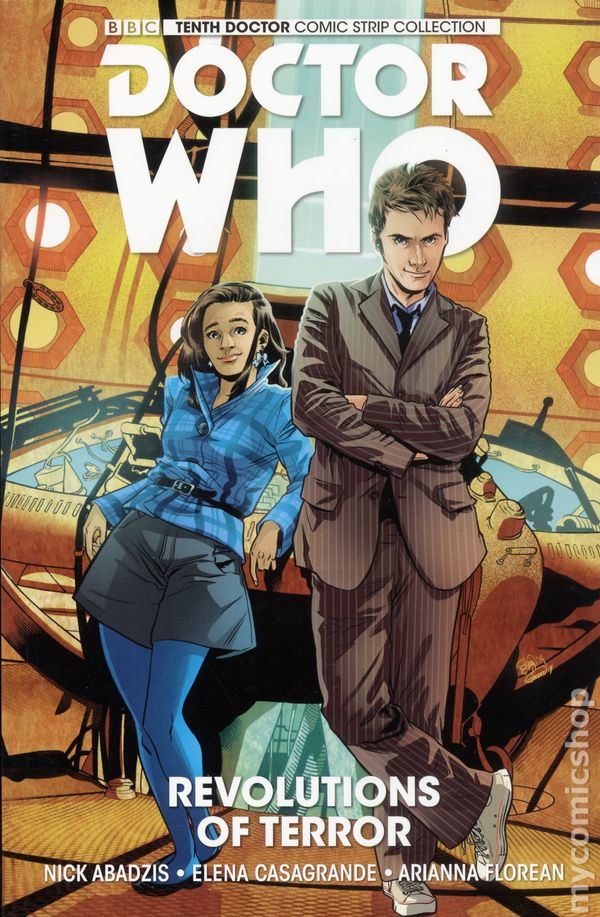 Doctor Who TPB 2016 Titan Comics New Adventures With The Tenth 1LTD