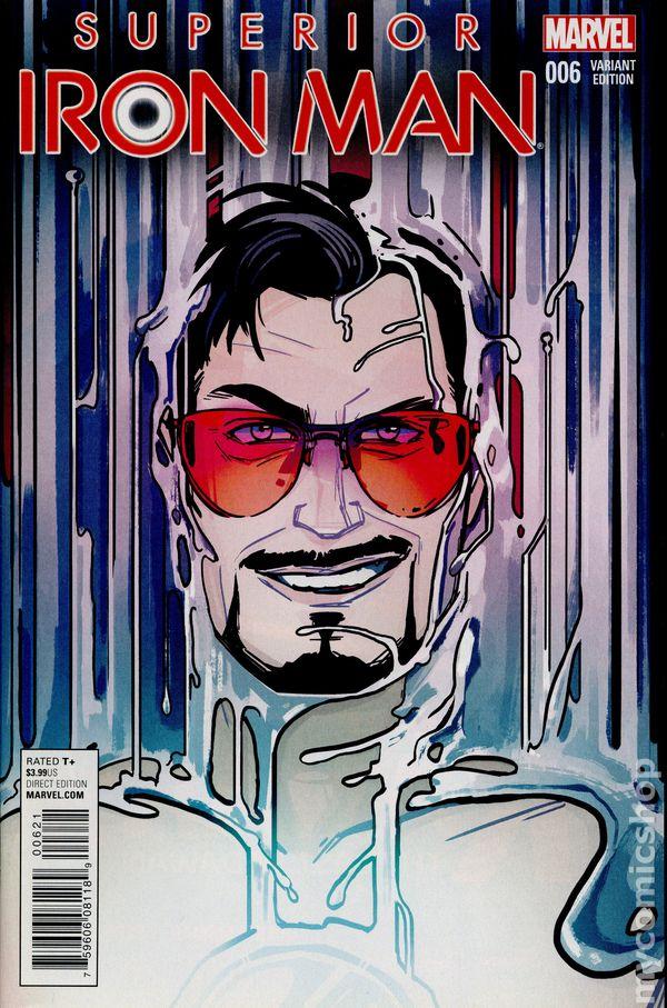 Superior Iron Man #1 Blank  Variant Edition Marvel Comics CB16486