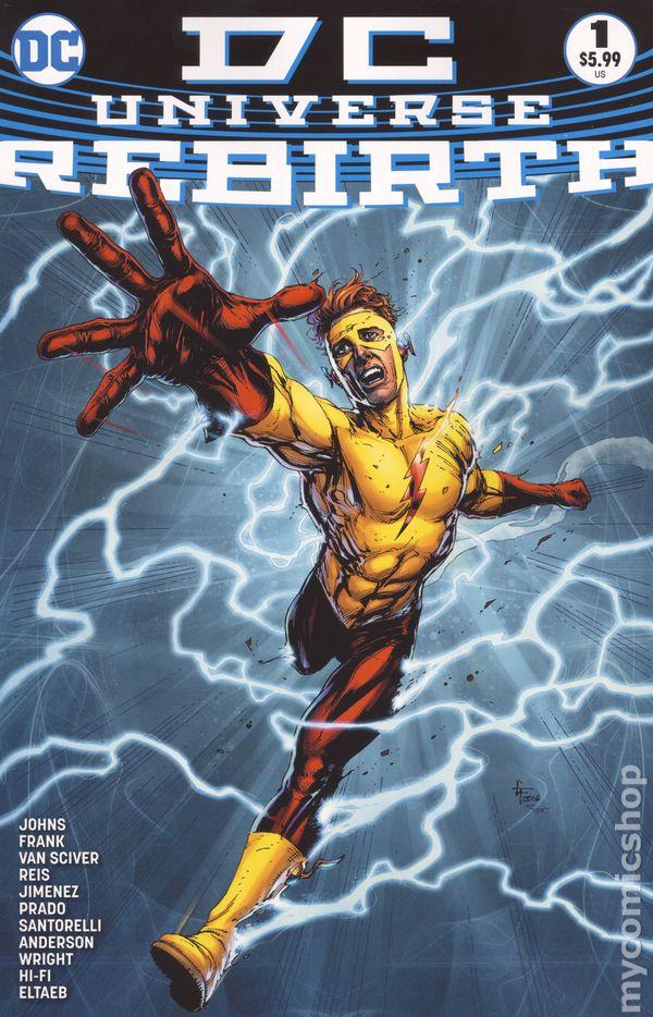 Dc Universe Rebirth Comic Books Issue 1