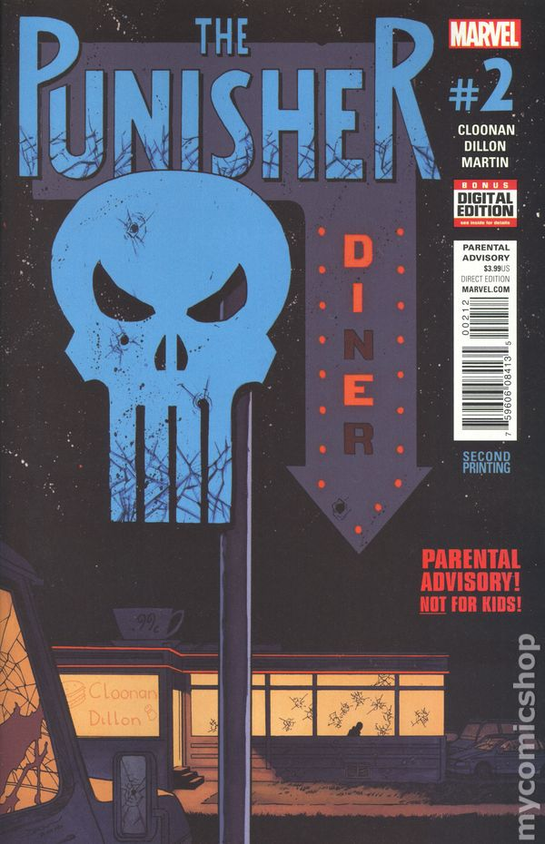 The Punisher #8 Marvel Comics Very Good 1987, 2nd Series