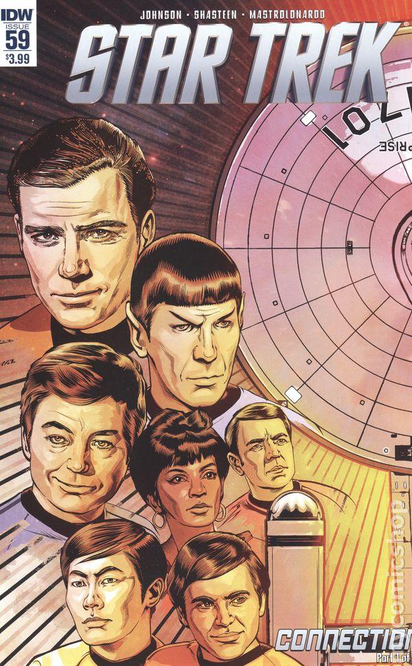 Q Comic Cover A IDW 2009 NM Star Trek Alien Spotlight