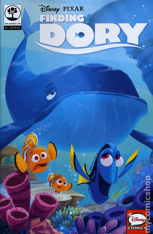 Disney Pixar Finding Dory 2016 Comic Books