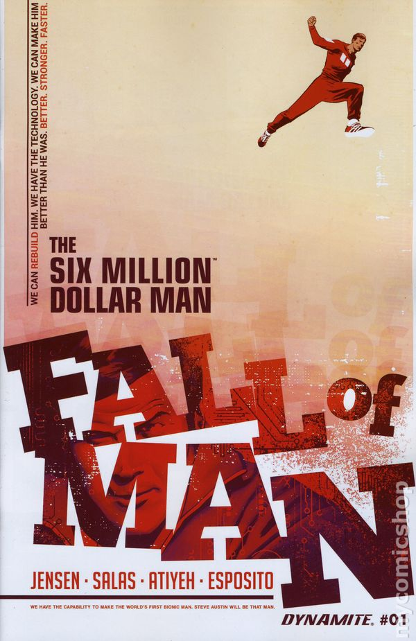 Six Million Dollar Man Fall #1A
