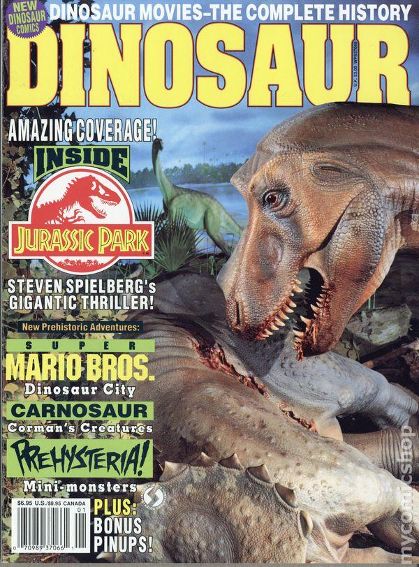 dinosaur magazine 1993 starlog comic books