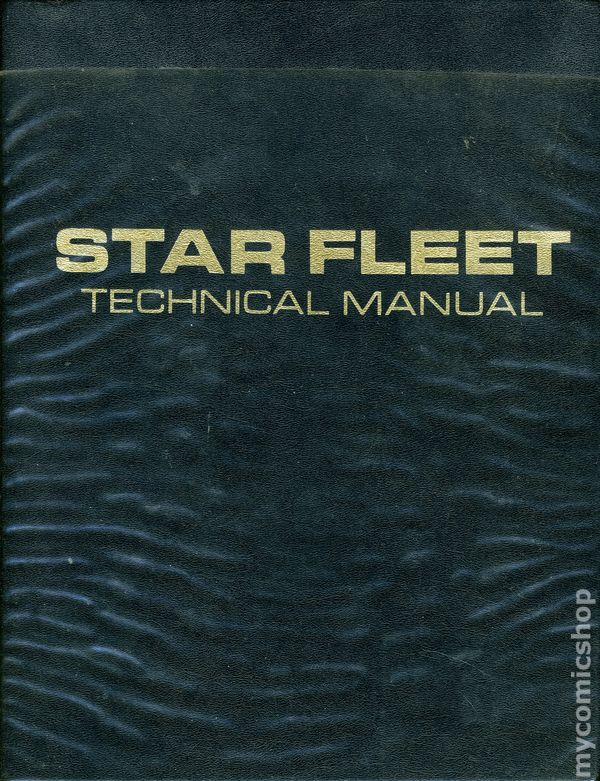 Inherited my uncle's 1st edition star fleet technical manual.