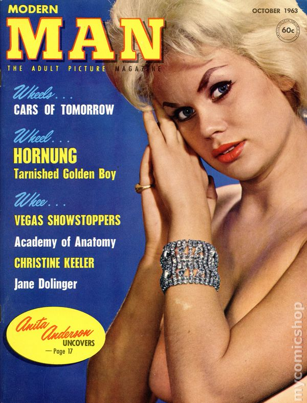 Modern Man Magazine Annual Vol. 2 1953~Sports Cars and Guns Round-Up Issue