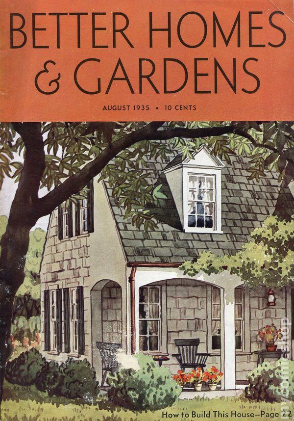 Better Homes Gardens Magazine 1924 comic books