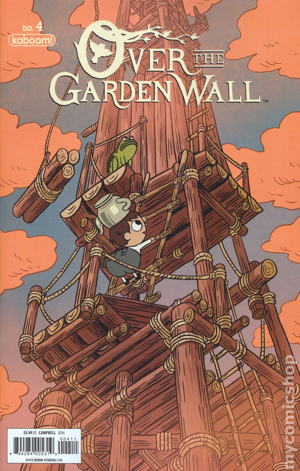 over the garden wall comic books issue 4 - Over The Garden Wall Comic