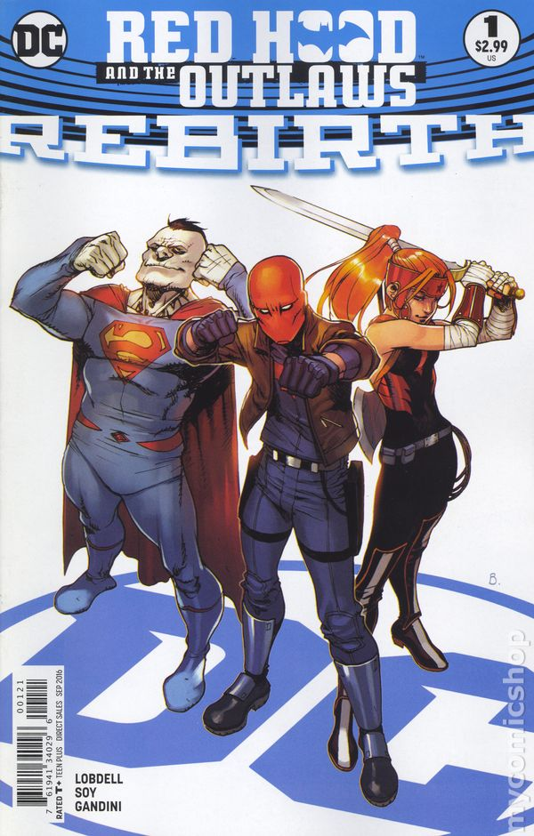 Universe Comics  CB5079 Red Hood and the Outlaws #1 Futures End Lenticular D.C