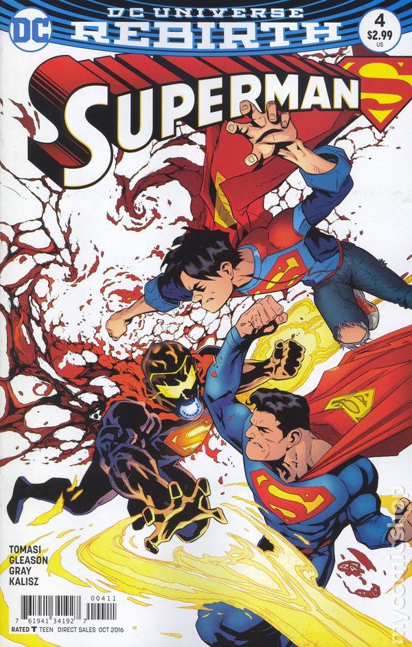 PANINI #4 SUPERMAN ab 2019 DSUPMA004