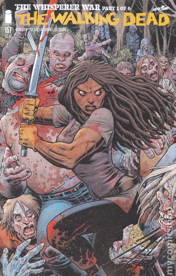 2017 NM Image Comics 1st Print The Walking Dead #172