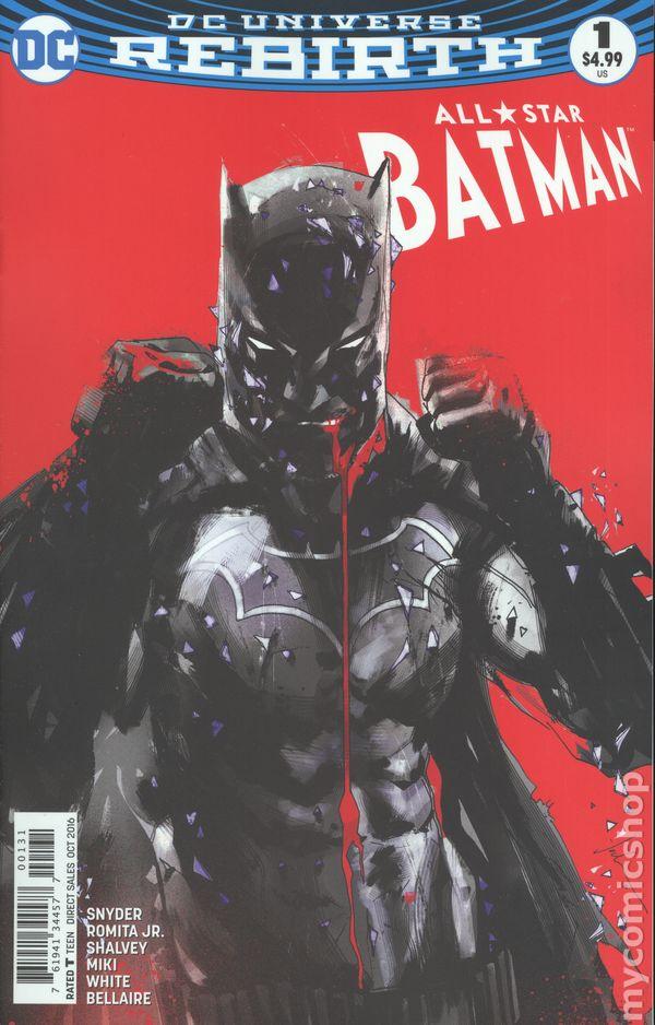 869a531c9723a0 All Star Batman (2016) comic books