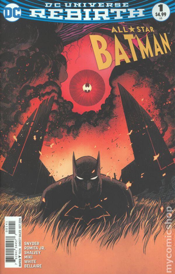 f5831df8fc76 All Star Batman comic books issue 1