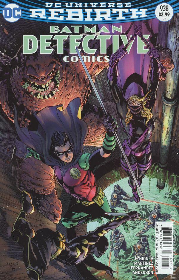 Detective Comics #943A Fabok Variant NM 2016 Stock Image
