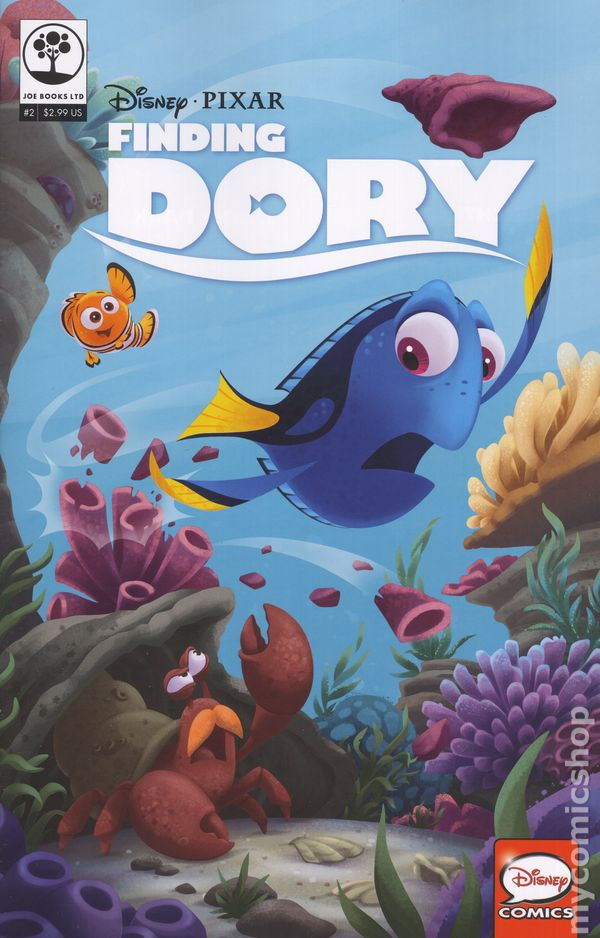 Disney Pixar Finding Dory 2016 Comic Books