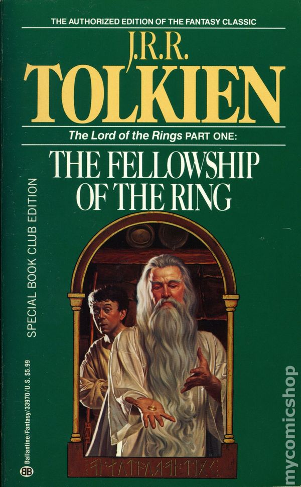 lord of the rings pb 1965 ballantine novel authorized edition