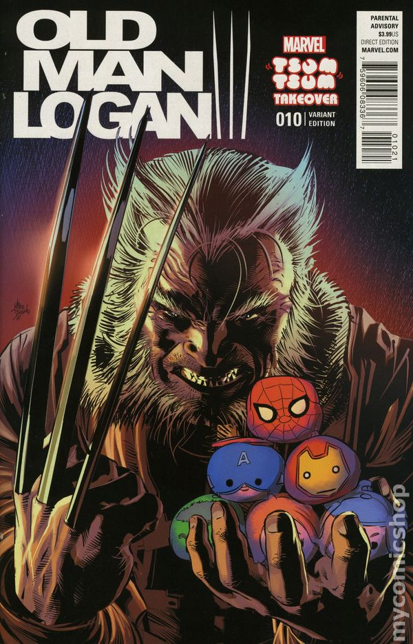 old man logan comic books issue 10