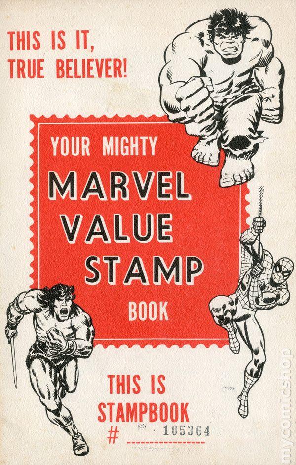 Marvel Value Stamp Book (c.1975) comic books