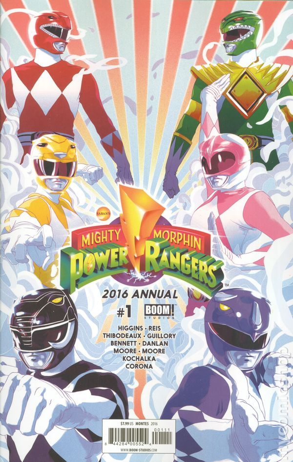 MIGHTY MORPHIN POWER RANGERS #4 NEAR MINT 2016 UNREAD COPY #cdec16-2041