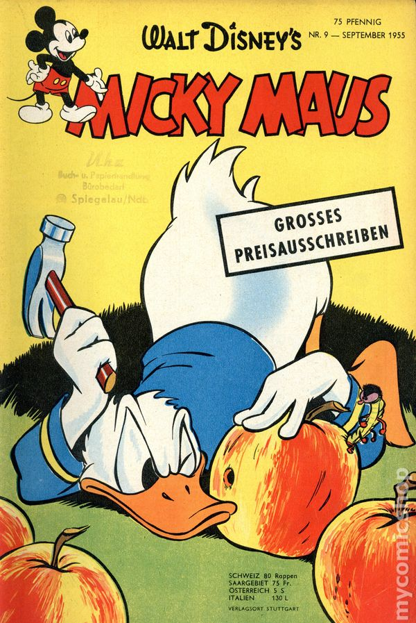 micky mouse deutsch