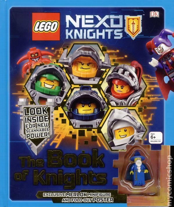 LEGO Nexo Knights: The Book of Knights HC (2016 DK) comic books