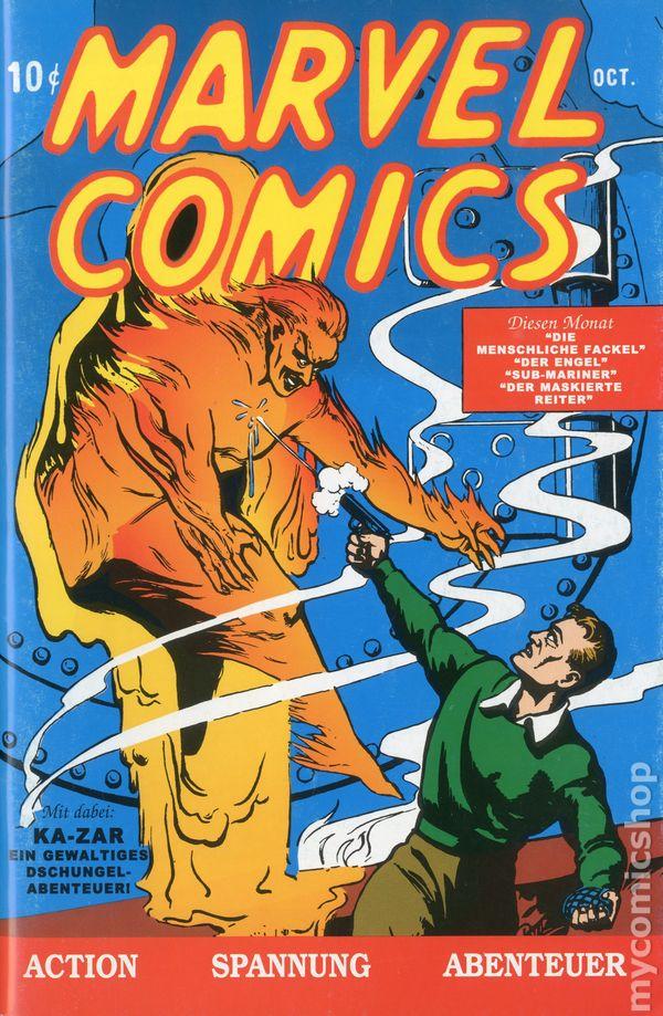 Marvel Comics Немецкая Перепечатка #1