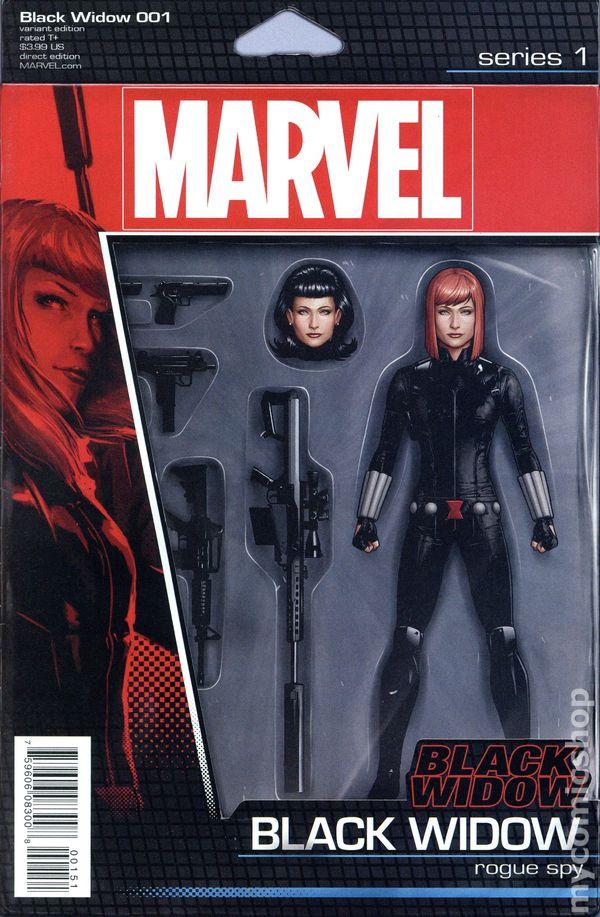 Black Widow #1 Hip Hop Variant Marvel Comics 1st Print