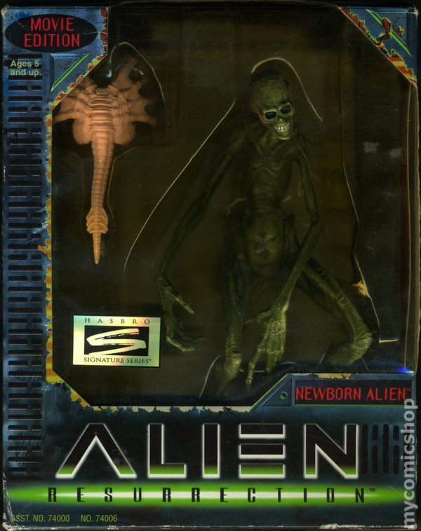 Alien Resurrection Action Figure (1997 Kenner) Movie Edition comic books