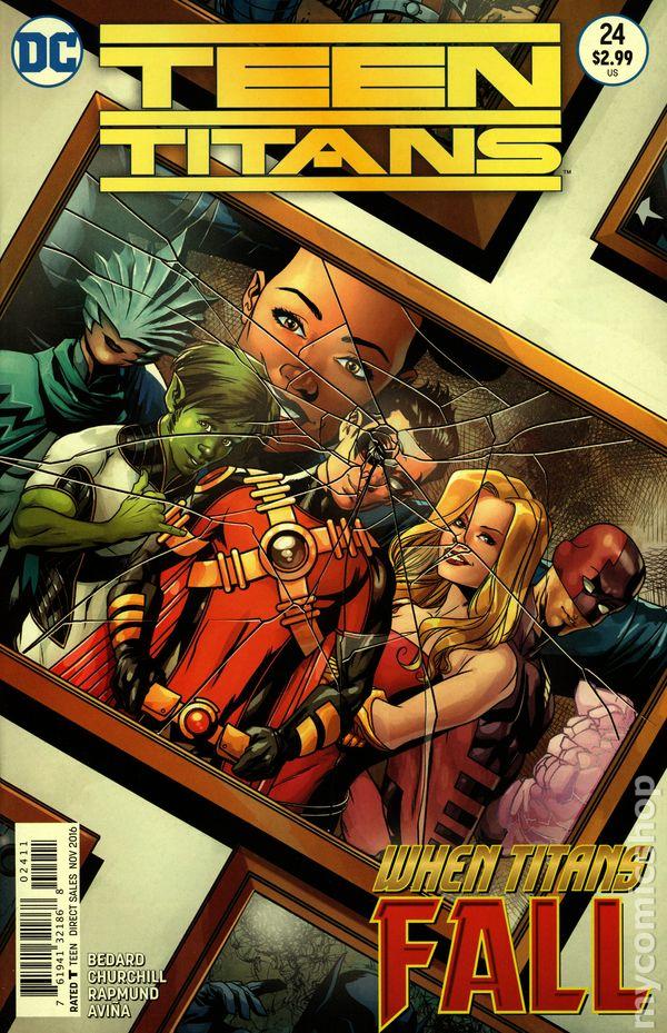 Teen Titans 2014 5Th Series Comic Books-7310