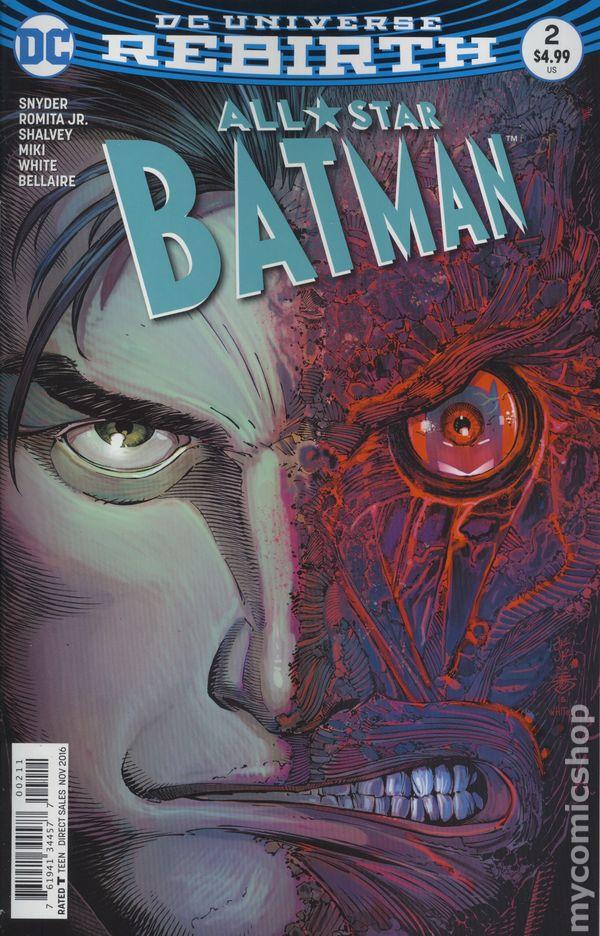 b06b11833366 All Star Batman (2016) comic books