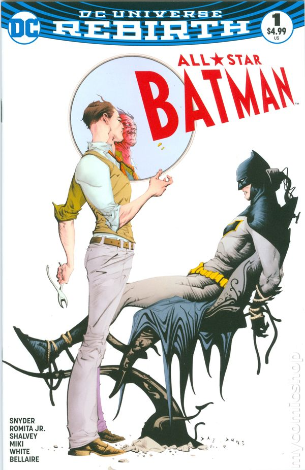 4ac5b06a38af All Star Batman comic books issue 1