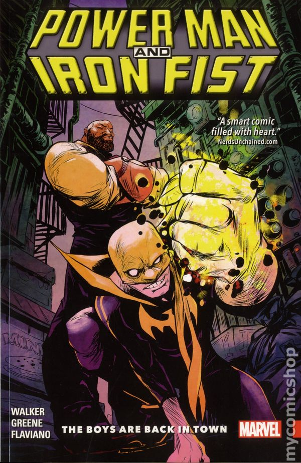Power Man And Iron Fist TPB 2016 Marvel Comic Books