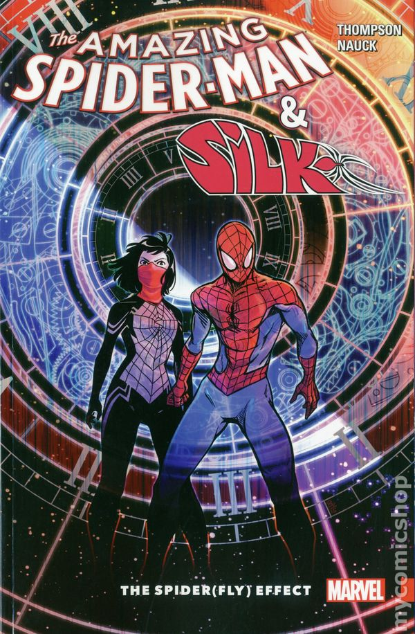 spider man and the amazing Silk